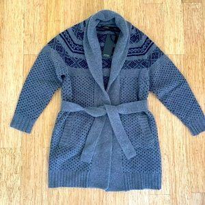 NWT Alpha Massimo Rebecchi Wool Cardigan Size M